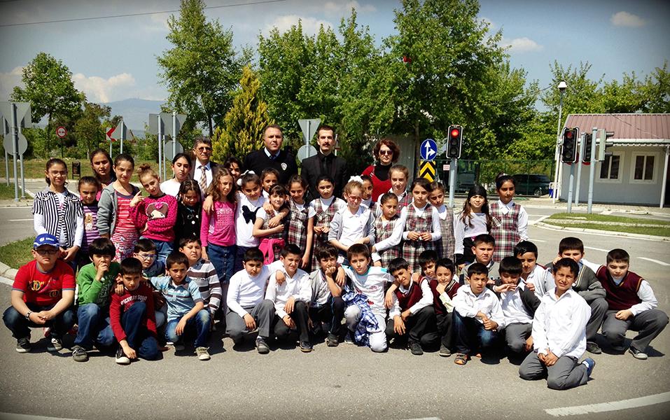 Trafik Eğitim Parkı'ndaki Bir Günümüz