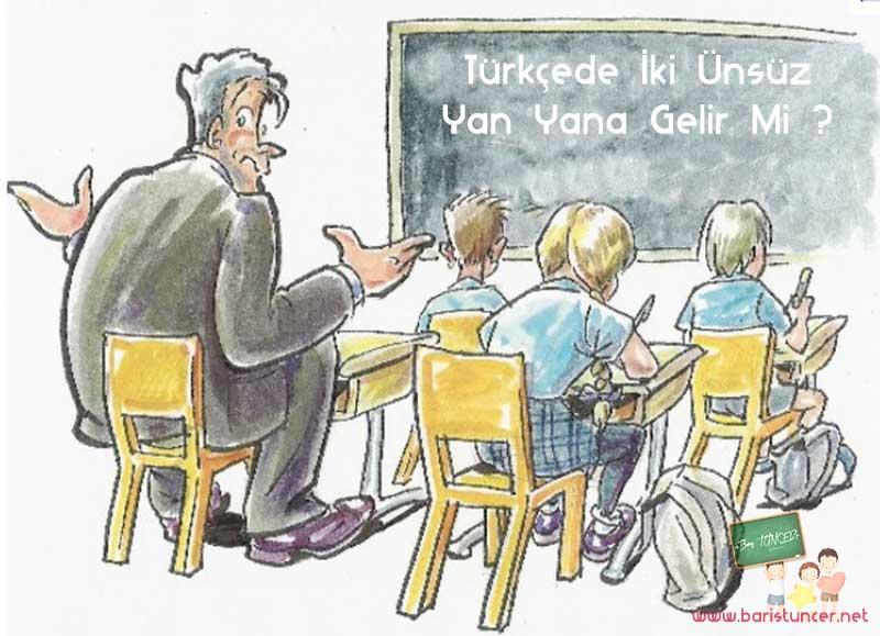 Türkçede İki Ünsüz Yan Yana Gelir Mi ?