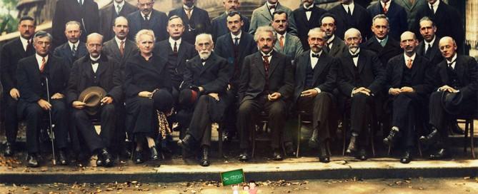 Bilim İnsanlarının 1927 Yılında Çektirmiş Olduğu Fotoğraf