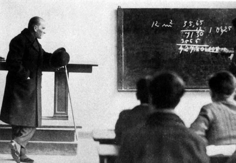 Mustafa Kemal Atatürk'ün Matematiğe ve Geometriye Kazandırdığı Terimler