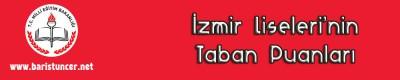 İzmir Liseleri'nin Taban Puanları
